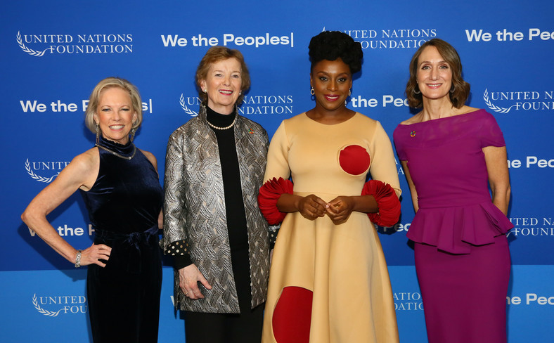 Chimamanda Ngozi Adichie is the youngest African to receive the UN Foundation Global Leadership Award