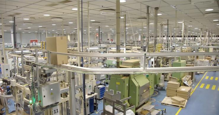 Novi proizvodni sistem u fabrici Filip Moris u Nišu