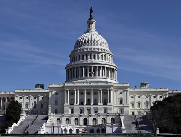 Siedziba amerykański Kongresu na Capitol Hill w Waszyngtonie