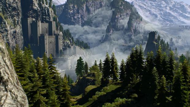 Wiedźmin 3: Dziki Gon - zamczysko Kaer Morhen