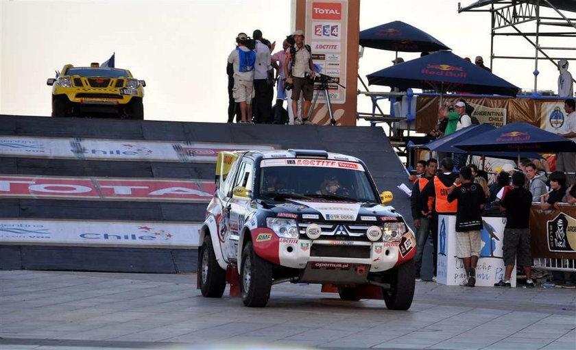 Małysz na trasie Dakaru