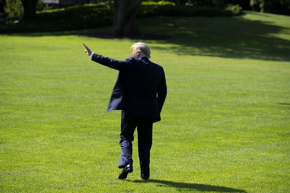 Nije video Epstajna godinama - Donald Tramp