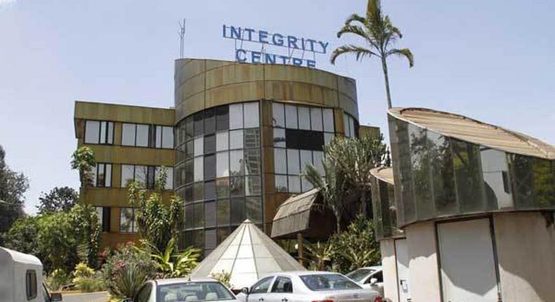 File image of EACC offices in Nairobi
