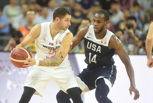 Košarkaška reprezentacija Srbije, SAD
