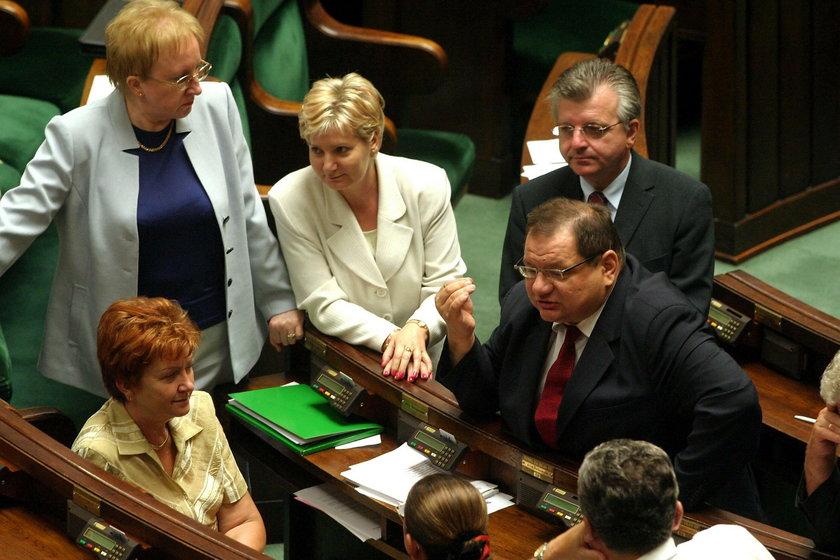Anna Bańkowska, Elżbieta Szparaga, Bronisława Kowalska, Andrzej Pęczak, Ryszard Kalisz