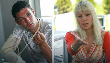 Nemanja Stefanović i Bojana Jovanovska