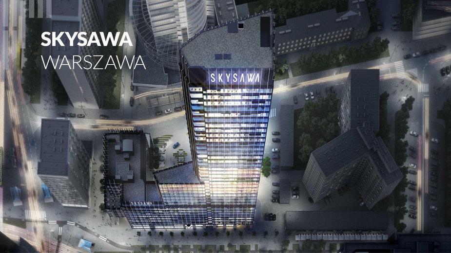 Biurowiec Skysawa