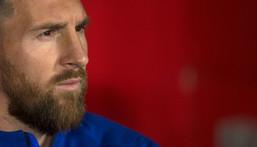 Lionel Messi is leaving Barcelona Creator: JORGE GUERRERO