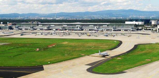 8. Lotnisko we Frankfurcie nad Menem