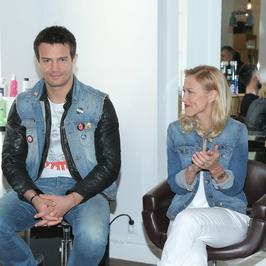 Mikołaj Krawczyk i Sylwia Juszczak-Arnesen znowu razem na salonach
