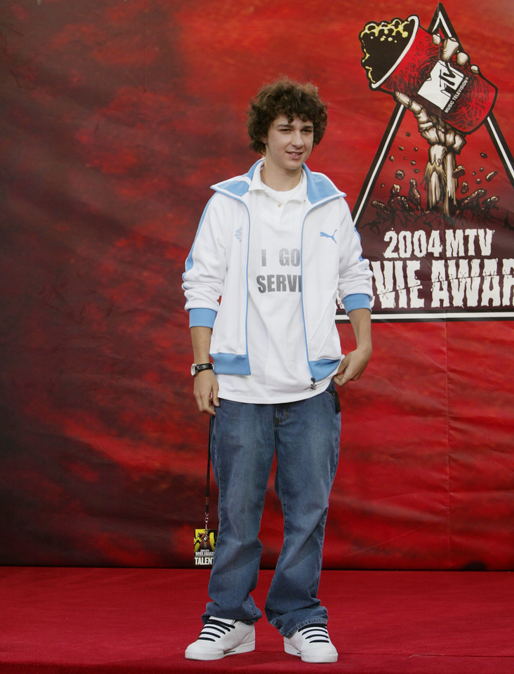 Shia LaBeouf na MTV Movie Awards w 2004 r.