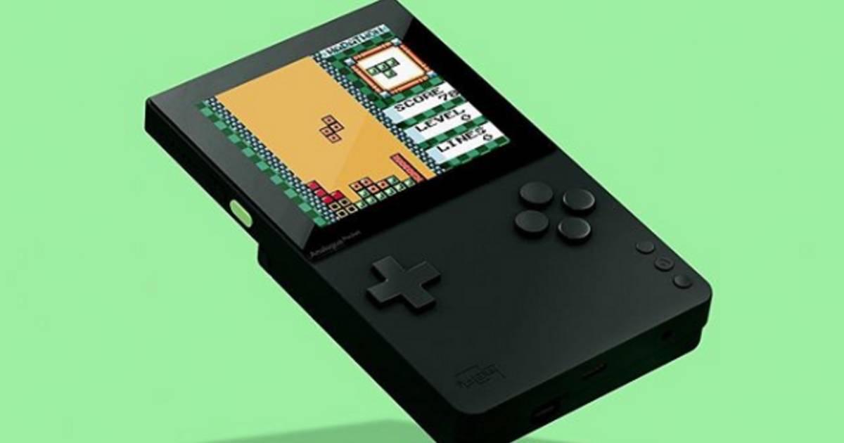 Der neue Luxus-Retro-Gameboy kann alle alten Games abspielen