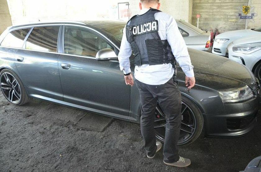 Policja odzyskała audi warte 200 tys. zł