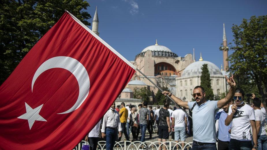 Hagia Sophia stała się meczetem