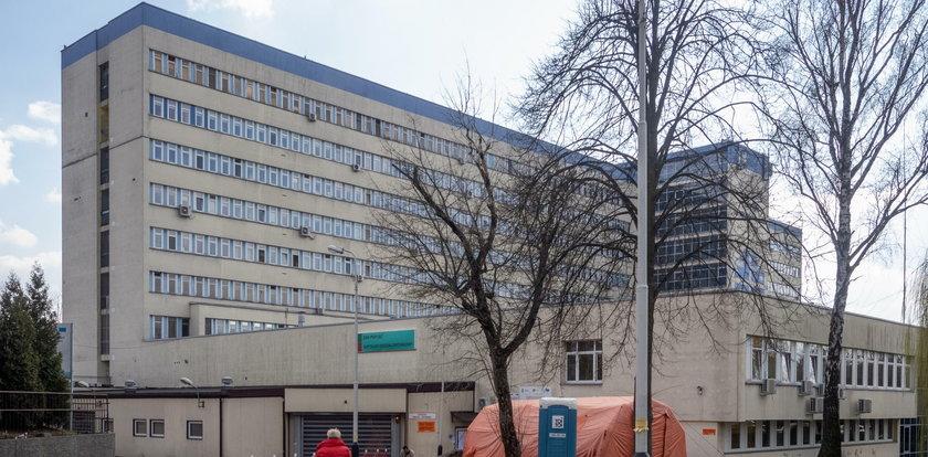 Koronawirus w szpitalu Kopernika w Łodzi. Pacjentka nie miała objawów