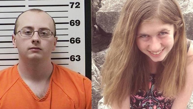 Jake Thomas Patterson (left) and Jayme Closs (right)