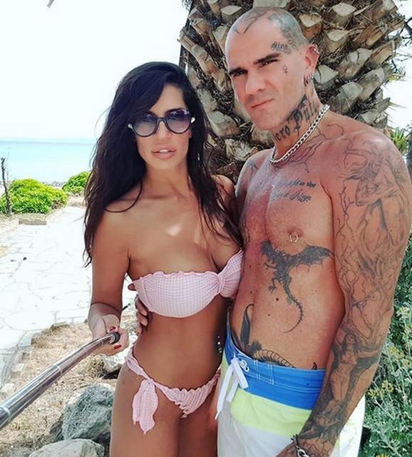 Una i Aleksandar na odmoru