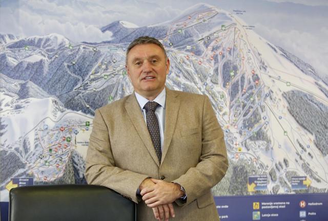 Dejan Ćika, direktor JP Skijališta Srbije