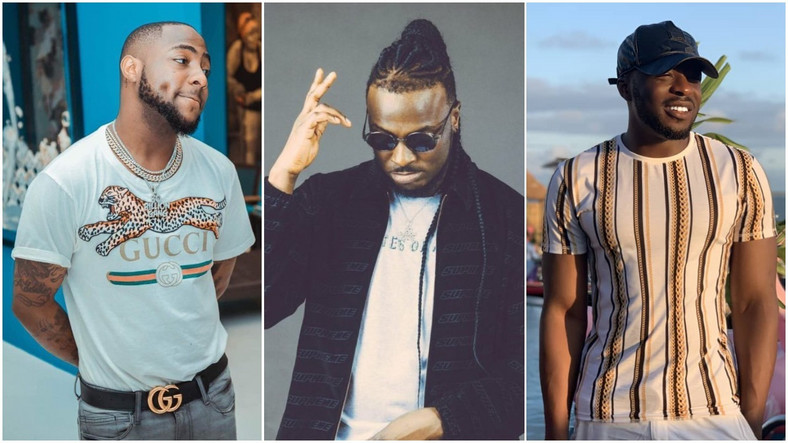 Golden Boy Entertainment boss had cried out that Davido helped Peruzzi breach his contract. (PM News/O42/Instagram/KingPatrickGB)
