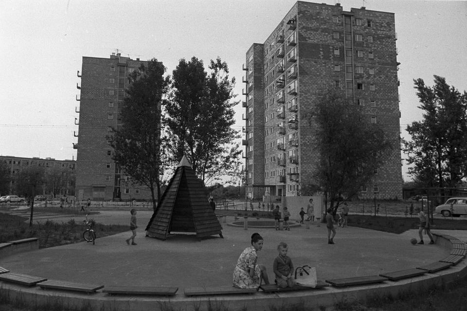 Osiedle Sady Żoliborskie, okolice ul. Włościańskie