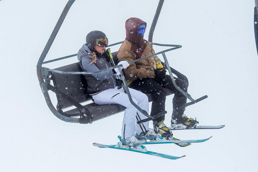 Ferenstein-Kraśko na nartach