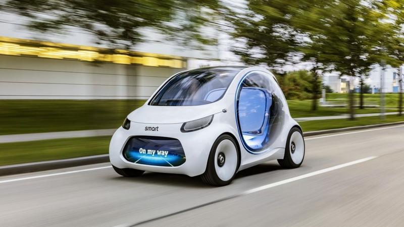 Koncepcyjny Smart od inżynierów Mercedesa