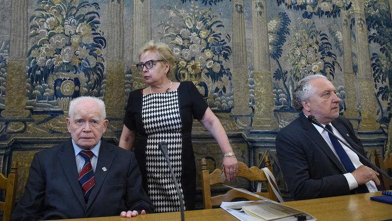 Adam Strzembosz, Małgorzat Gersdorf, Andrzej Rzepliński
