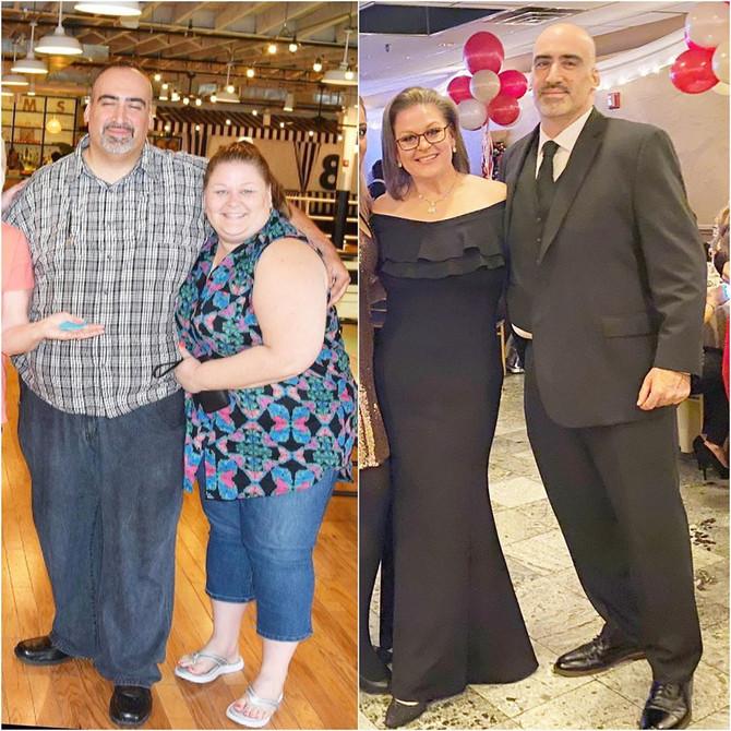 Bračni par prepolovio kilažu