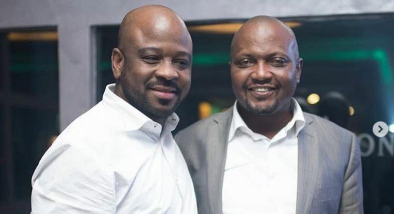 Moses Kuria celebrates birthday at high-end City club
