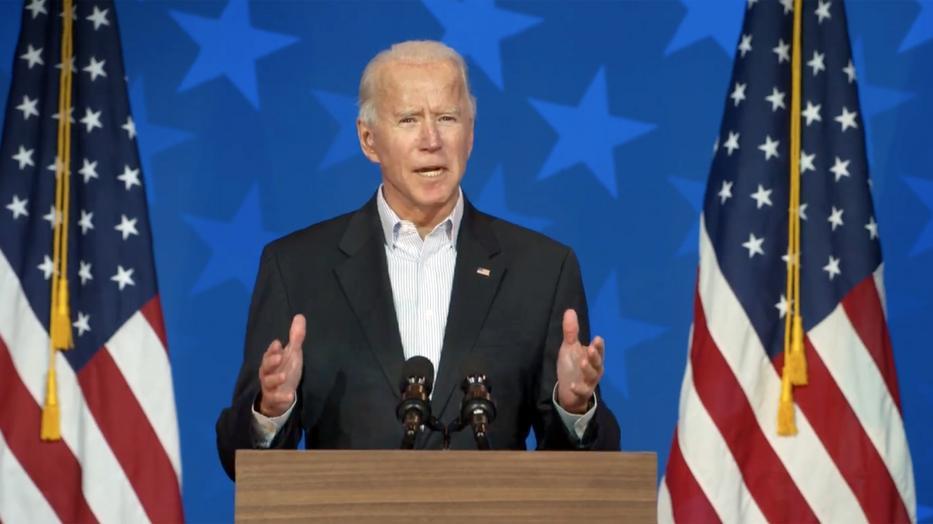 Joe Biden lett az Amerikai Egyesült Államok új elnöke / Fotó: Northfoto