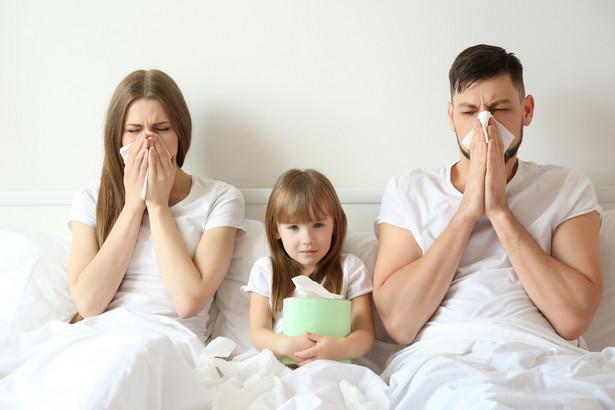 W Polsce w drugim tygodniu marca zanotowano ponad 158 tys. przypadków zachorowań i podejrzeń zachorowań na grypę
