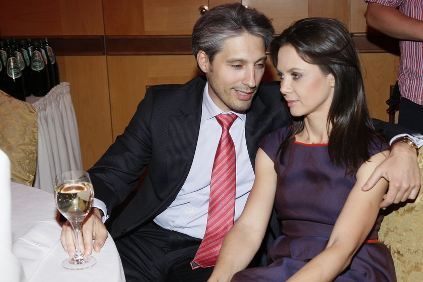 Kinga Rusin i Marek Kujawa