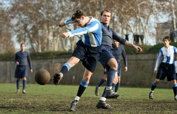 Fudbal, nekada - Scena iz filma