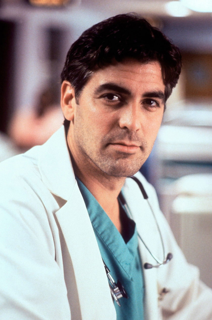 George Clooney jako dr Doug Ross