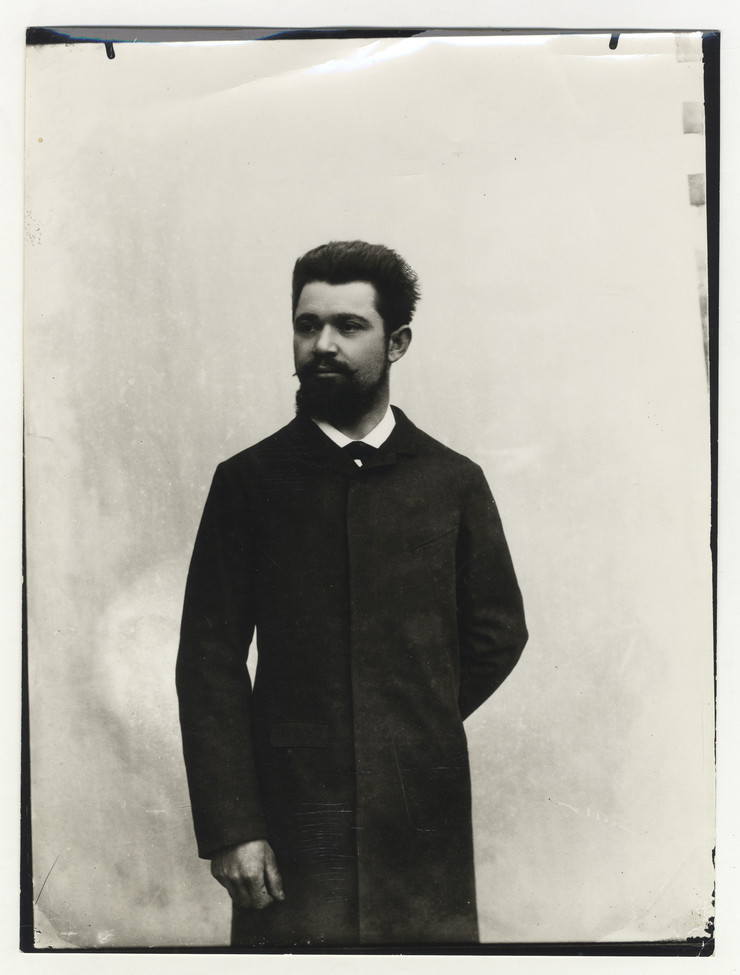 Djordje Stanojevic portret  1887-1889