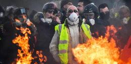 """Kolejny protest """"żółtych kamizelek"""" we Francji"""