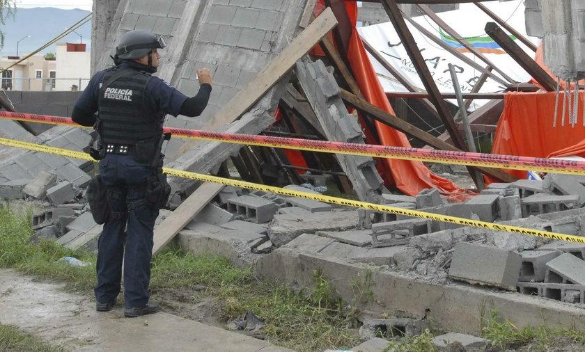 W Meksyku zawaliło się centrum handlowe