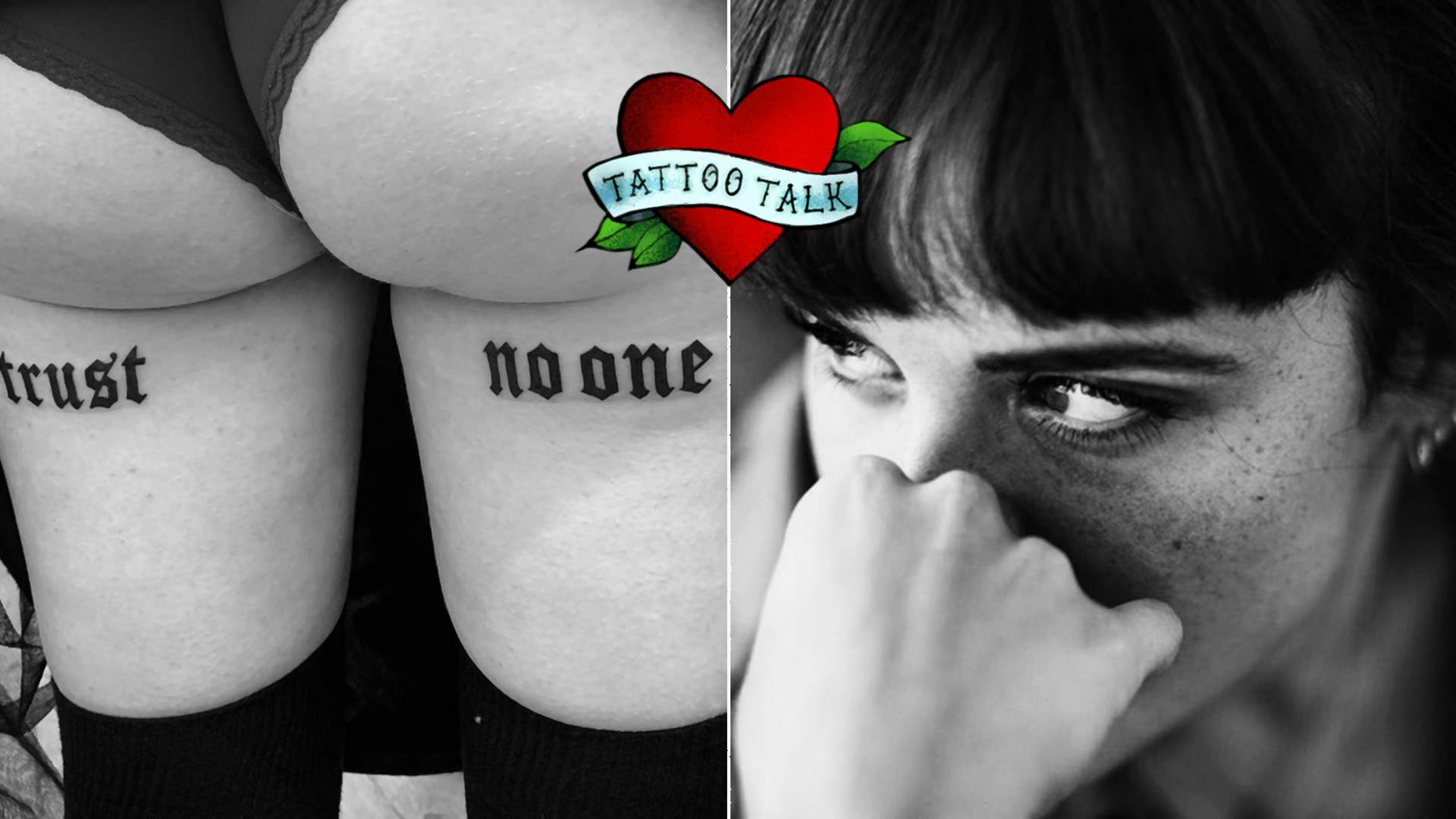 Filigranes Blackwork: Emma Lola aus Berlin im Tattoo Talk #33