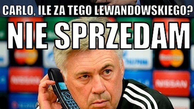 Bayern Monachium pokonał VfL Wolfsburg, Robert Lewandowski bohaterem memów