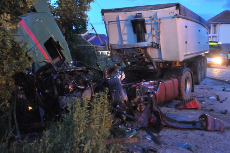 Kraljevo, sudar, kamioni, foto RAS N. Božović