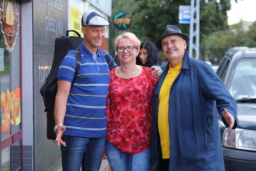 Marian Lichtman i Krzysztof Krawczyk junior kręcili ostatnie ujęcia do teledysku