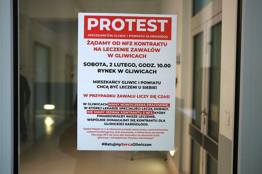 Gliwiczanie nie chcą umierać! Szykują protest na sobotę!