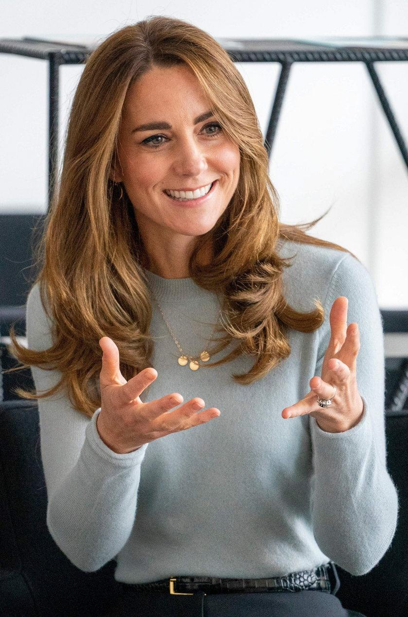 Księżna Kate opisała swoje życie jednym słowem. Bardzo wymowne...