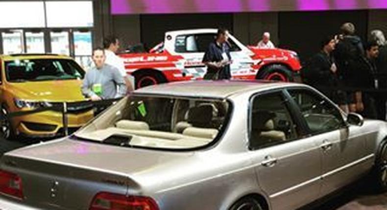 Restored 1993 Acura Legend