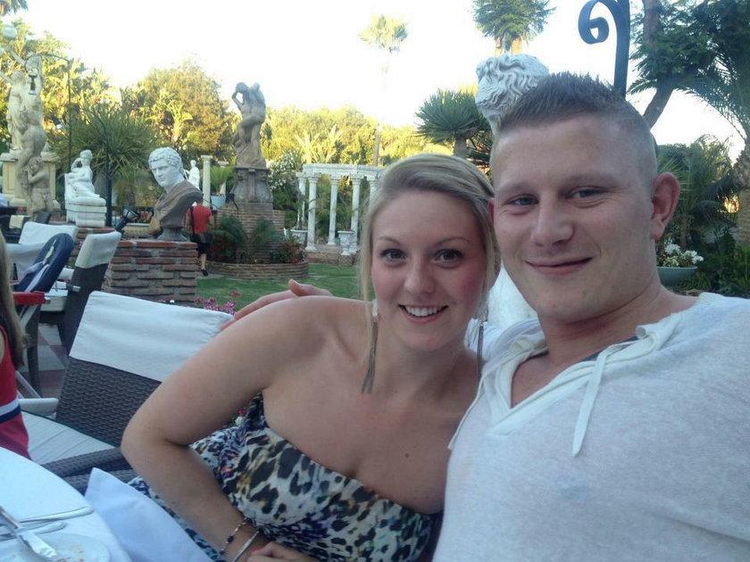 31-letni Shaun ze swoją ciężarną partnerką