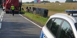 Fatalny wypadek pielgrzymów pod Olsztynem. Aż 30 osób trafiło do szpitala!