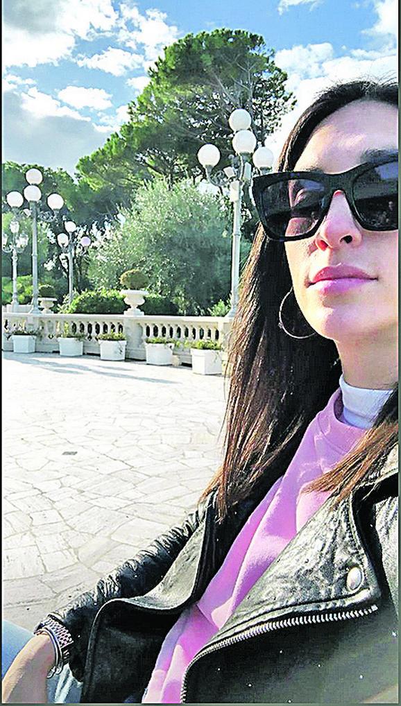 Jelisaveta Orašanin u Italiji
