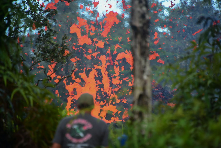 Erupcja wulkanu Kilauea