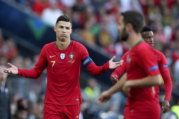 Najveća pretnja reprezentaciji Srbije, Kristijano Ronaldo