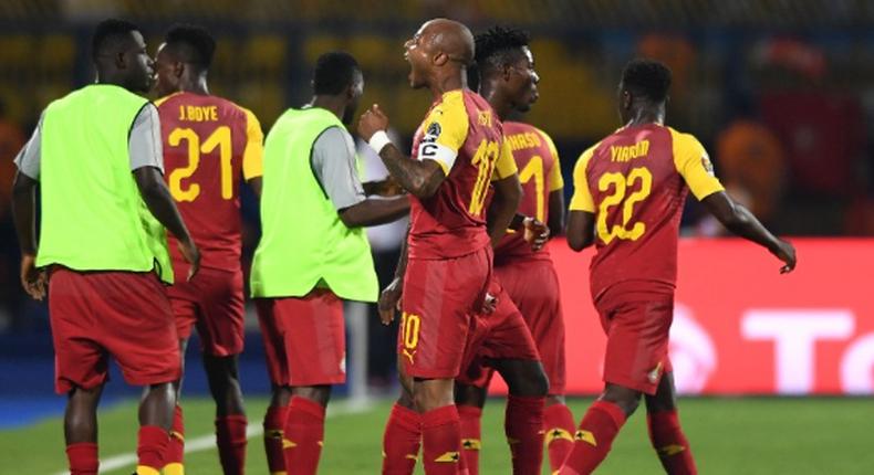 Ghana 2-2 Benin